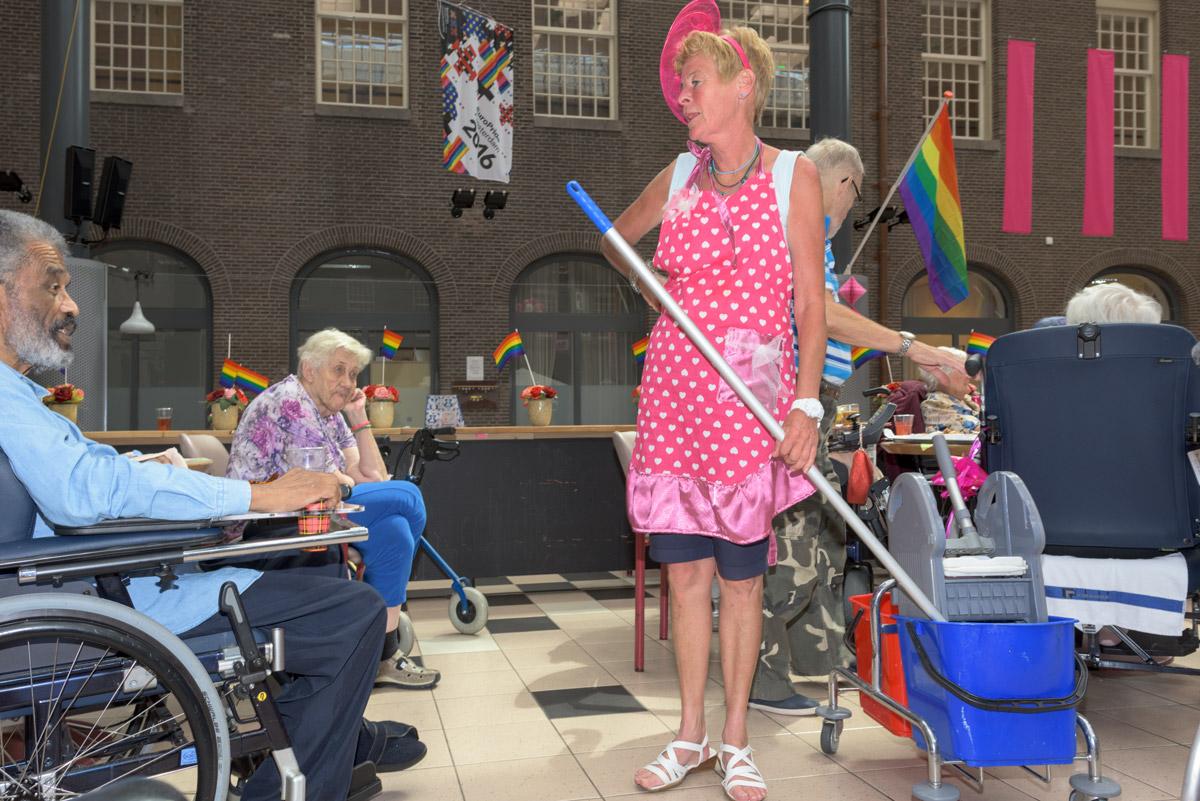 europride 2016 - ode aan de roze ouderen