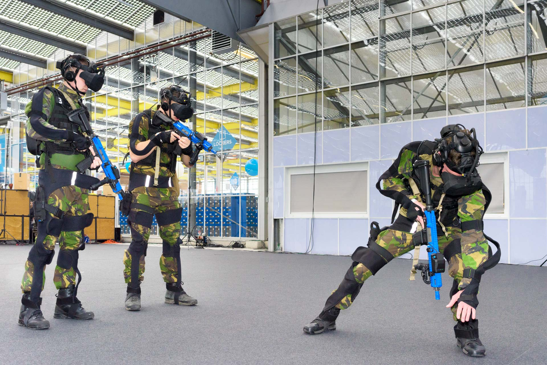 Actual Reality | defensie trainingssysteem SUIT (Small Unit Immersive Trainer) - Brightday 2019