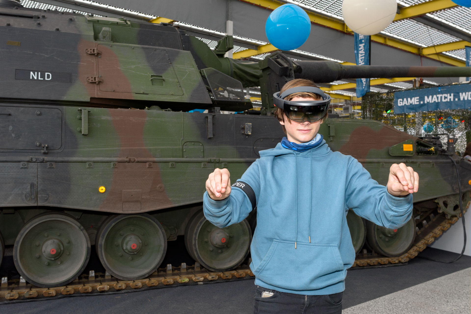 Face Reality | defensie hololens simulatietraining- Brightday 2019 | Sas Schilten ★ Fotografie