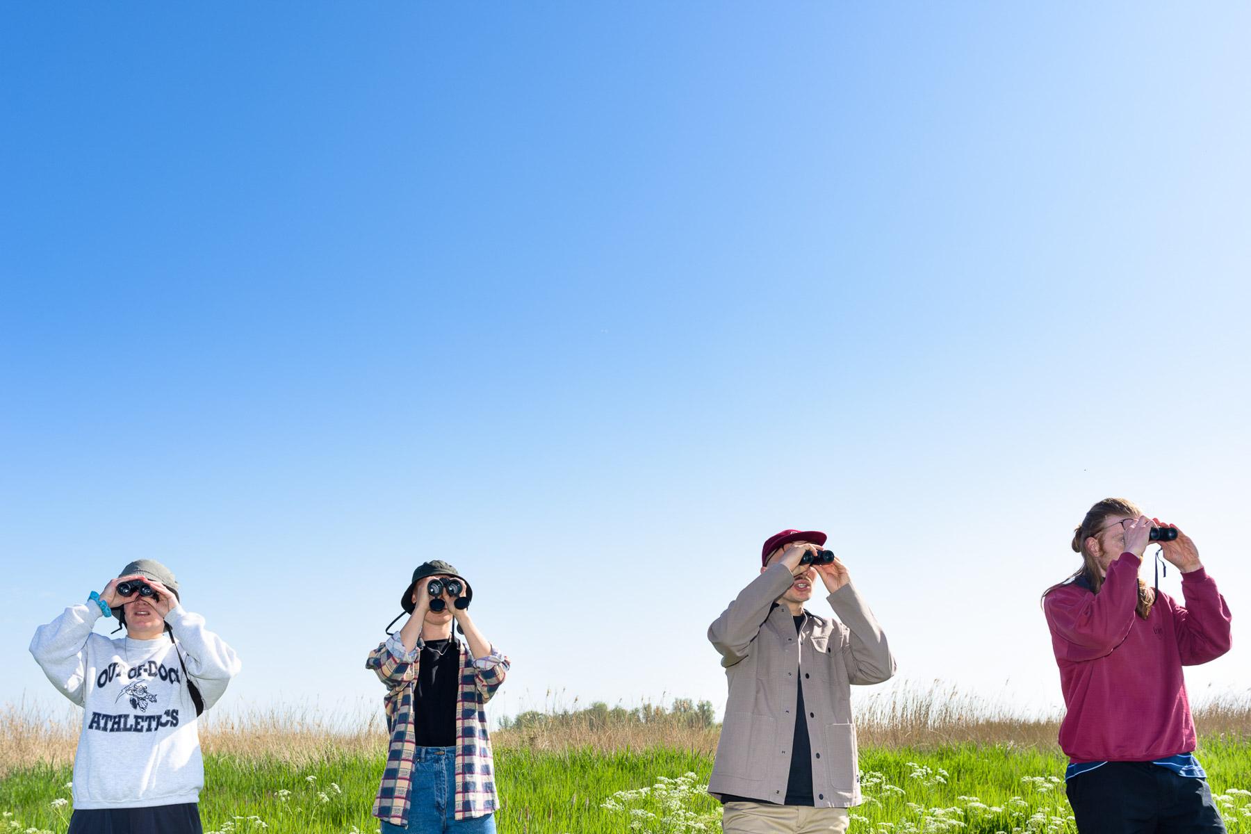 Vogels kijken voor het Parool | Sas Schilten Fotografie